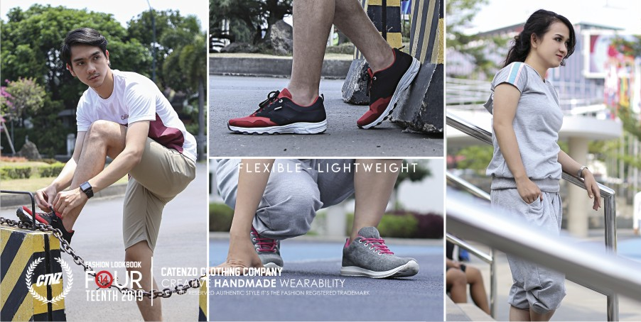 Koleksi Sepatu Sporty 2019 - flexible and lightweight