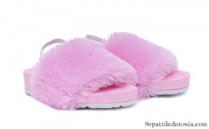 Gambar Sandal anak perempuan PINK FEATHERS T 7183