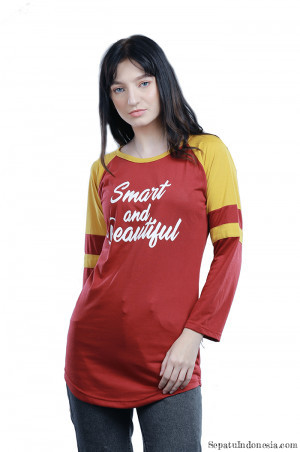 Gambar kaos wanita SMART AND BEAUTY H 0468